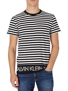 calvin-klein-jeans-outline-logo-striped-t-shirt