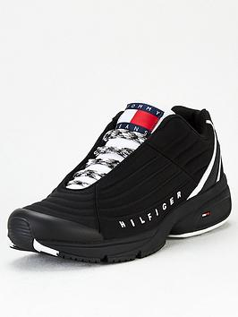 tommy-hilfiger-mix-runner-trainers-blacknbsp