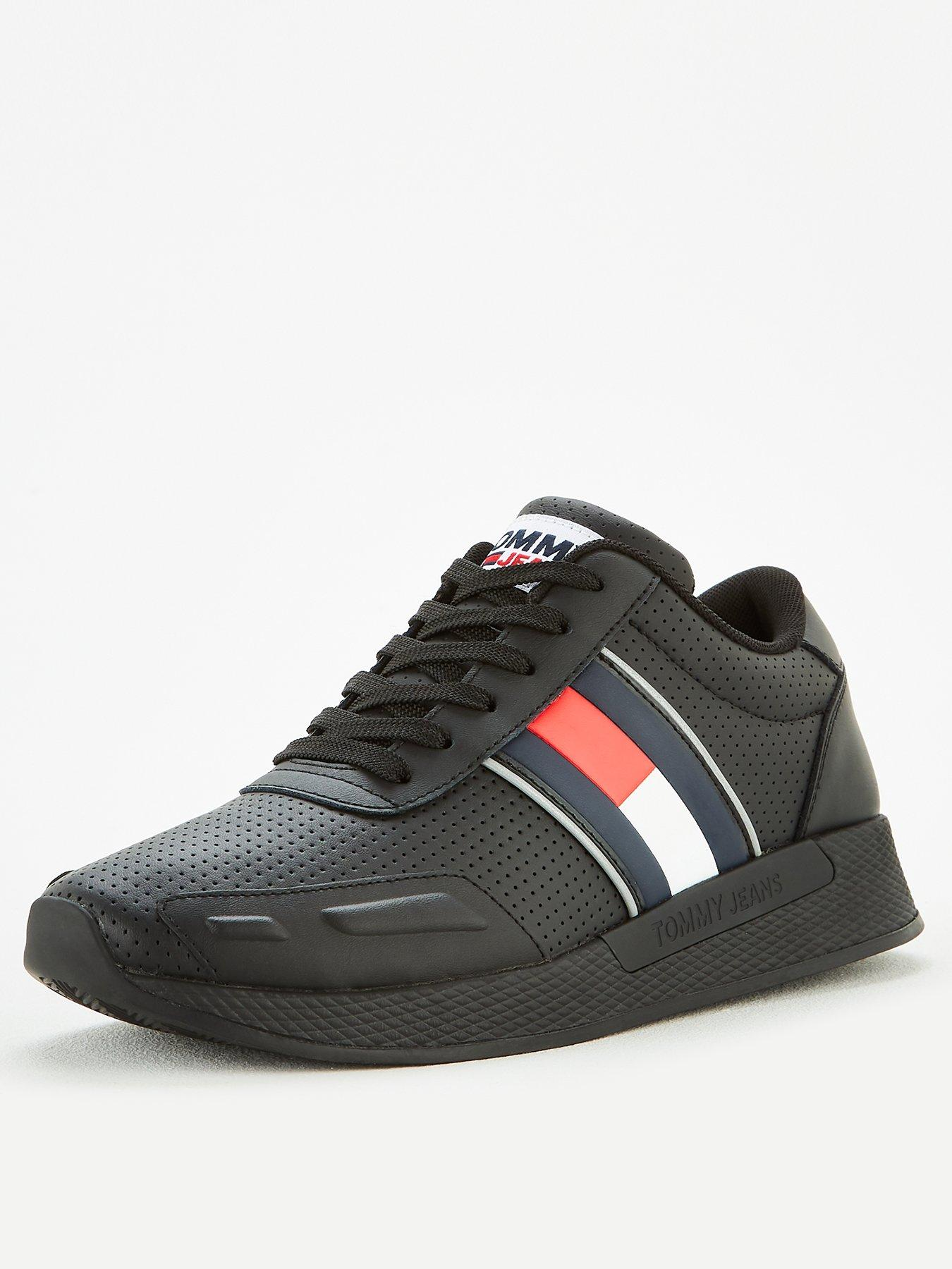 Tommy Hilfiger Flexi Perforated Leather