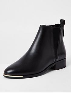 river-island-leather-chelsea-boots-black