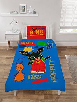 Bing Bunny Rebel Rules Reversible Single Duvet Cover Set