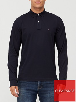 tommy-hilfiger-tommy-regular-long-sleeve-polo-shirt-navy