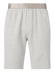 calvin-klein-silver-waistband-lounge-shorts-grey-heather