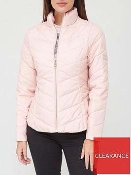ted-baker-packaway-padded-jacket-pink