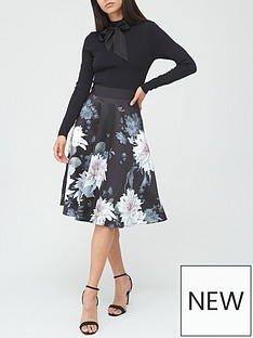 ted-baker-clove-full-skirted-dress-black