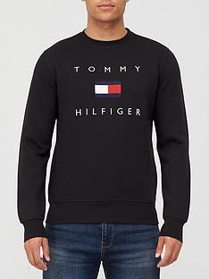 tommy-hilfiger-tommy-flag-hilfiger-sweatshirt-black