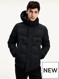 tommy-hilfiger-padded-hooded-stretch-bomber-jacket-black