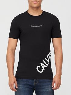 calvin-klein-jeans-stretch-logo-fashion-t-shirt-black