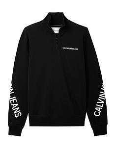 calvin-klein-jeans-stretch-logo-14-zip-sweat