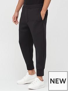 emporio-armani-circle-logo-joggers-black