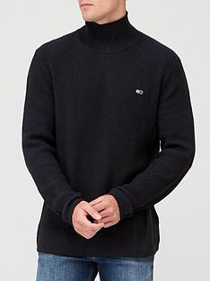 tommy-jeans-tjmnbsphigh-mock-sweater-black