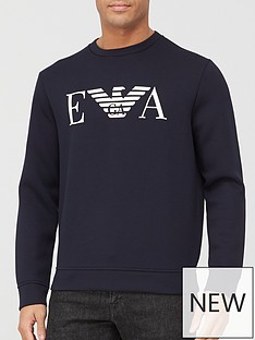 emporio-armani-ea-logo-sweatshirt-navy