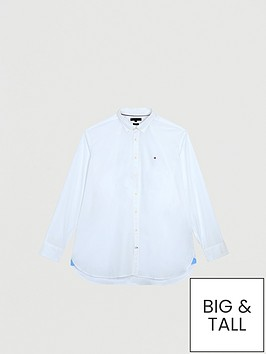 tommy-hilfiger-stretch-poplin-shirt-white