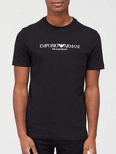 emporio-armani-classic-logo-t-shirt-black