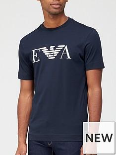 emporio-armani-ea-logo-t-shirt-navy