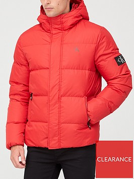 calvin-klein-jeans-hooded-down-padded-jacket-red