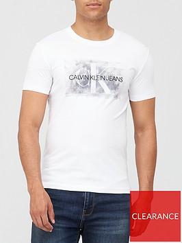 calvin-klein-jeans-blurred-silver-monogram-t-shirt-white