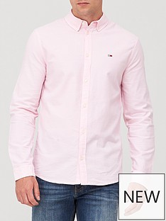 tommy-jeans-tjm-stretch-oxford-shirt-pink