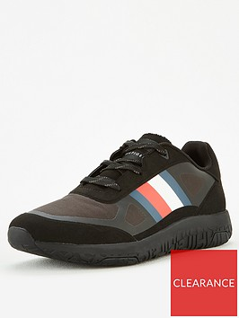 tommy-hilfiger-lightweight-mix-modern-runner-trainers-blacknbsp