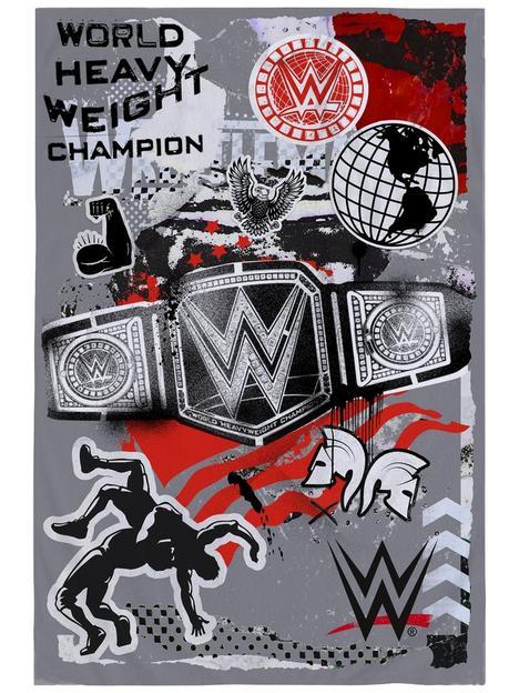 wwe-world-heavyweight-champion-fleece-blanketnbsp