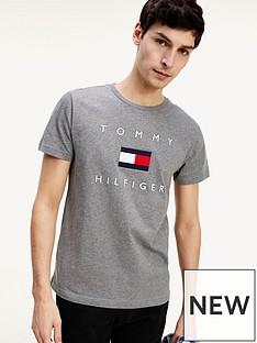 tommy-hilfiger-tommy-flag-hilfiger-t-shirt-grey
