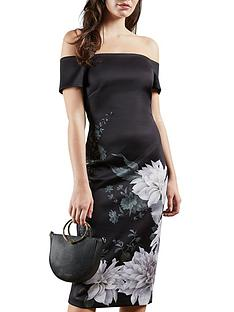 ted-baker-clove-bardot-bodycon-dress-black