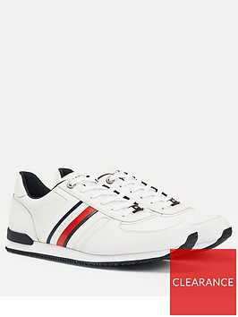 tommy-hilfiger-icon-mix-leather-runner-trainers-whitenbsp