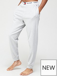 tommy-hilfiger-cuffed-lounge-pants-grey-heather