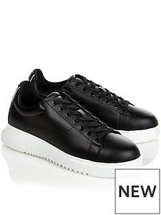emporio-armani-mens-icon-runner-trainersnbsp--black