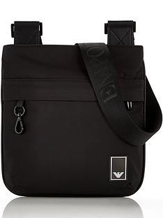 emporio-armani-menrsquos-travel-cross-body-bag-black