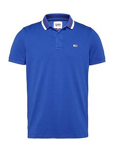 tommy-jeans-tjmnbspclassics-tipped-stretch-polo-bluenbsp