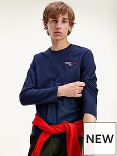 tommy-jeans-tjmnbsplong-sleeve-corp-t-shirt-navynbsp