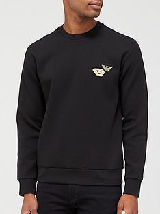 emporio-armani-logo-sweatshirt-black