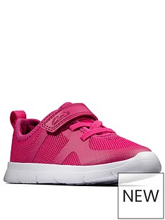 clarks-ath-flux-toddler-trainer-pink