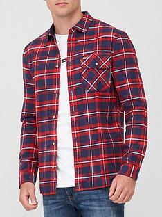 tommy-jeans-tjm-flannel-plaid-shirt-multi