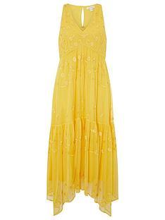 monsoon-carmela-sustainable-embellishednbspmidi-dress-yellow