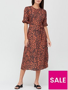 v-by-very-printed-round-neck-midi-dress-animal