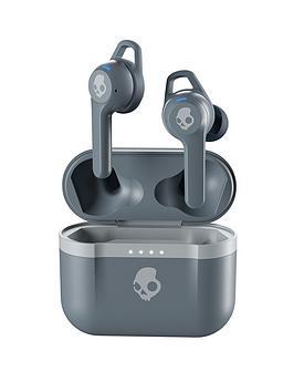 Skullcandy Indy Evo True Wireless In-Ear Headphones - Chill Grey