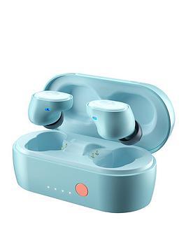 Skullcandy Sesh Evo True Wireless In-Ear Headphones - Bleached Blue