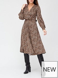 v-by-very-wrap-satin-jacquard-tie-waist-midi-dress-animal-print