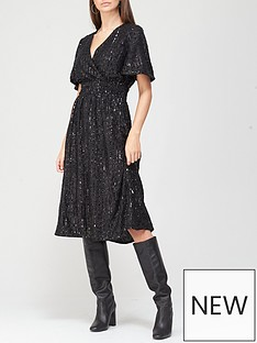v-by-very-wrap-sequin-midi-dress-black