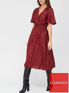 v-by-very-wrap-sequin-midi-dress-burgundy