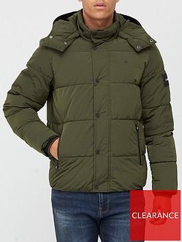 calvin-klein-crinkle-nylon-padded-mid-length-jacket-khaki