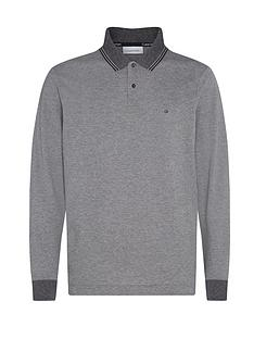 calvin-klein-recyclednbsplong-sleeve-polo-shirt-grey