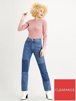levis-crew-rib-sweater-pink