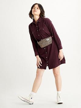 levis-selma-dress--nbspmaroon
