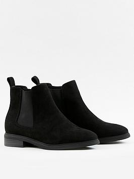 evans-extra-wide-fit-chelsea-boots-black