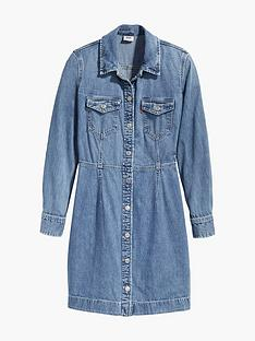 levis-ellie-denim-dress-blue