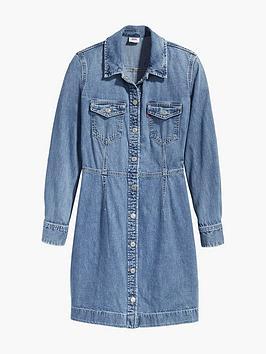 levis-ellie-denim-dress-blue