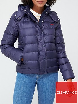 levis-core-down-padded-coat-blue